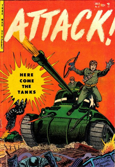 Cover for Attack (Youthful, 1952 series) #2