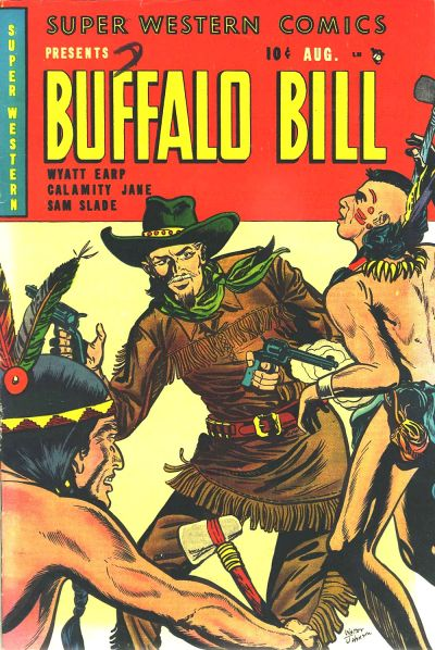Cover for Super Western Comics (Youthful, 1950 series) #1