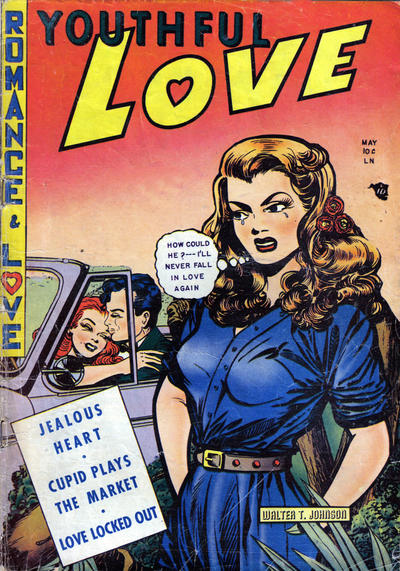 Cover for Youthful Love (Youthful, 1950 series) #1