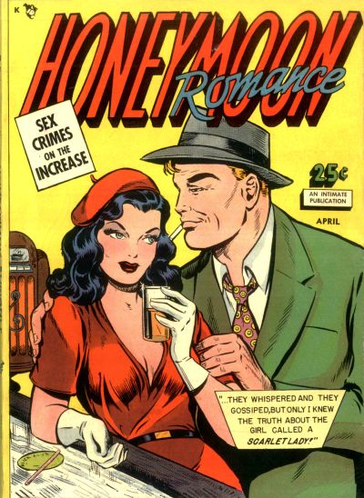 Cover for Honeymoon Romance (Comic Media, 1950 series) #1