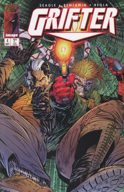 Cover for Grifter (Image, 1995 series) #4