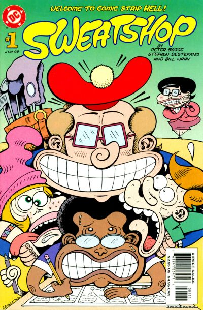 Cover for Sweatshop (DC, 2003 series) #1