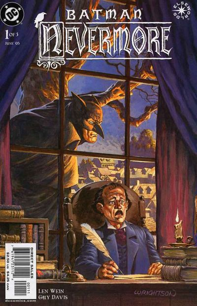 Cover for Batman: Nevermore (DC, 2003 series) #1