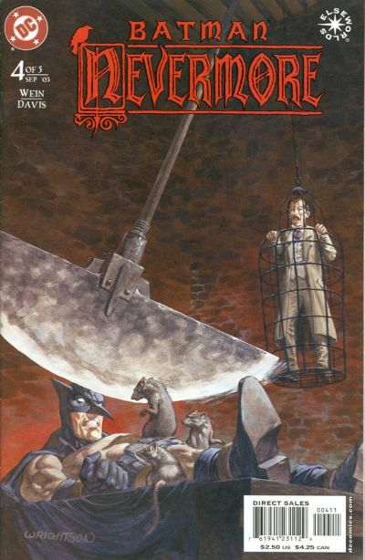 Cover for Batman: Nevermore (DC, 2003 series) #4
