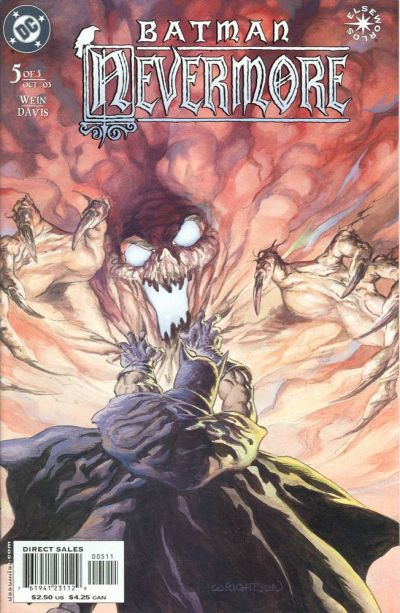 Cover for Batman: Nevermore (DC, 2003 series) #5