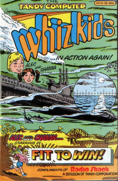 Cover for The Tandy Computer Whiz Kids (Fit to Win Edition) (Archie / Radio Shack, 1988 series)