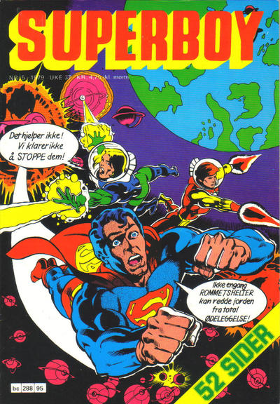 Cover for Superboy (Semic, 1977 series) #5/1979