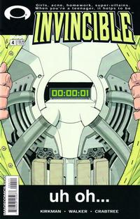 Cover Thumbnail for Invincible (Image, 2003 series) #4
