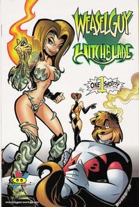Cover Thumbnail for Weasel Guy / Witchblade (Hyperwerks, 1998 series) #1 [Buccellato Cover]