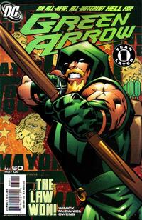 Cover Thumbnail for Green Arrow (DC, 2001 series) #60 [First Printing]