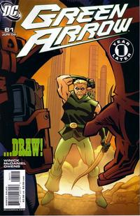 Cover Thumbnail for Green Arrow (DC, 2001 series) #61 [First Printing]
