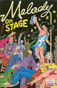Cover Thumbnail for Melody On Stage (Fantagraphics, 2000 series) #1