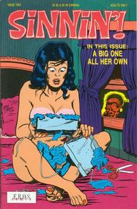 Cover for Sinnin' (Fantagraphics, 1991 series) #2