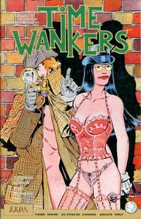 Cover Thumbnail for Time Wankers (Fantagraphics, 1990 series) #3