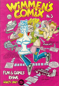 Cover Thumbnail for Wimmen's Comix (Last Gasp, 1972 series) #3 [Second Printing]