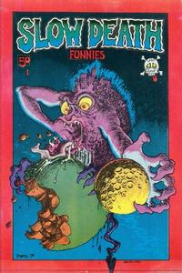 Cover Thumbnail for Slow Death Funnies (Last Gasp, 1970 series) #1 [1st print red border]