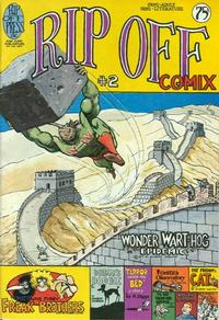 Cover Thumbnail for Rip Off Comix (Rip Off Press, 1977 series) #2