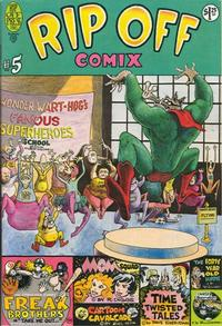 Cover Thumbnail for Rip Off Comix (Rip Off Press, 1977 series) #5