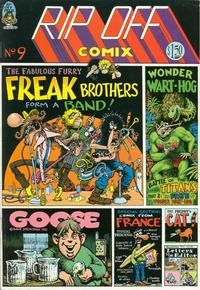 Cover Thumbnail for Rip Off Comix (Rip Off Press, 1977 series) #9
