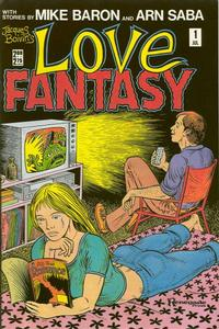 Cover Thumbnail for Jacques Boivin's Love Fantasy (Renegade Press, 1987 series) #1
