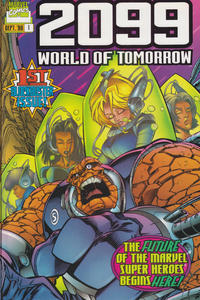 Cover Thumbnail for 2099: World of Tomorrow (Marvel, 1996 series) #1