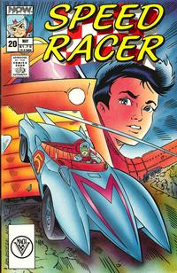 Cover Thumbnail for Speed Racer (Now, 1987 series) #20 [Direct]