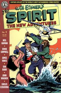 Cover Thumbnail for The Spirit: The New Adventures (Kitchen Sink Press, 1998 series) #2