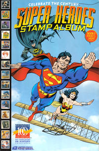 Cover Thumbnail for Celebrate the Century [Super Heroes Stamp Album] (DC / United States Postal Service, 1998 series) #1