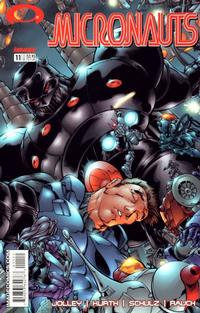 Cover Thumbnail for Micronauts (Image, 2002 series) #11