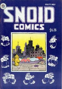 Cover Thumbnail for Snoid Comics (Kitchen Sink Press, 1980 series)  [1st print 1.25 USD]