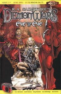 Cover Thumbnail for R.A. Salvatore's DemonWars: Eye for an Eye (CrossGen, 2003 series) #1