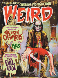 Cover Thumbnail for Weird (Eerie Publications, 1966 series) #v6#7