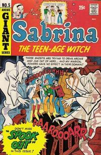 Cover Thumbnail for Sabrina, the Teenage Witch (Archie, 1971 series) #5