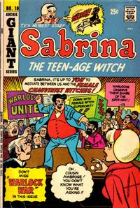 Cover Thumbnail for Sabrina, the Teenage Witch (Archie, 1971 series) #10