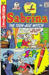 Cover Thumbnail for Sabrina, the Teenage Witch (Archie, 1971 series) #23