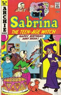 Cover Thumbnail for Sabrina, the Teenage Witch (Archie, 1971 series) #26