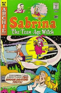 Cover Thumbnail for Sabrina, the Teenage Witch (Archie, 1971 series) #33
