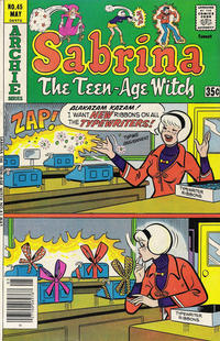 Cover Thumbnail for Sabrina, the Teenage Witch (Archie, 1971 series) #45