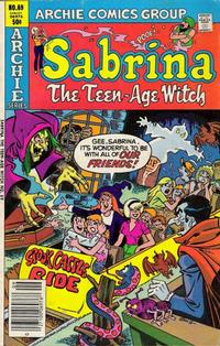 Cover Thumbnail for Sabrina, the Teenage Witch (Archie, 1971 series) #69