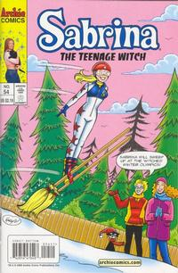 Cover Thumbnail for Sabrina the Teenage Witch (Archie, 2003 series) #54