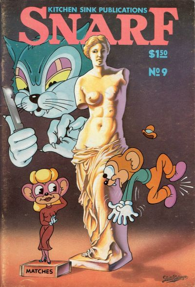 Cover for Snarf (Kitchen Sink Press, 1972 series) #9
