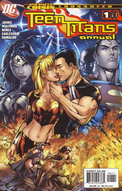 Cover for Teen Titans Annual (DC, 2006 series) #1