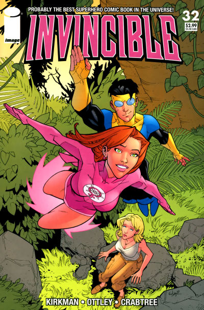 Cover for Invincible (Image, 2003 series) #32