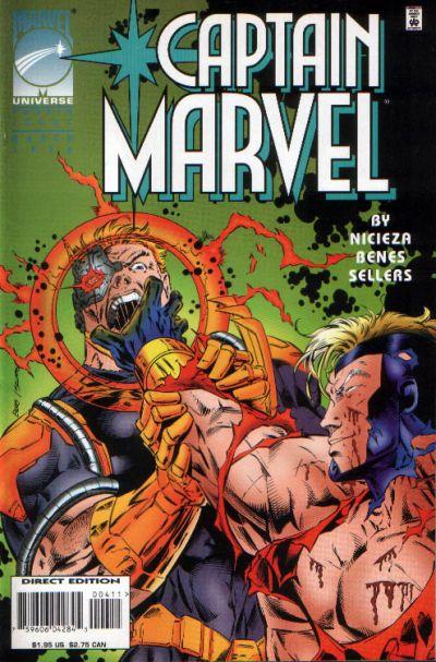 Cover for Captain Marvel (Marvel, 1995 series) #4