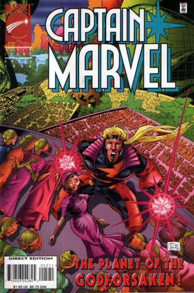 Cover for Captain Marvel (Marvel, 1995 series) #5