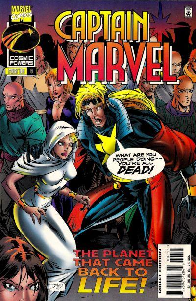 Cover for Captain Marvel (Marvel, 1995 series) #6