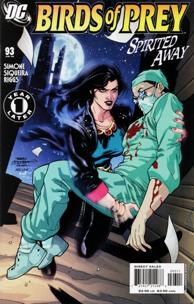 Cover for Birds of Prey (DC, 1999 series) #93