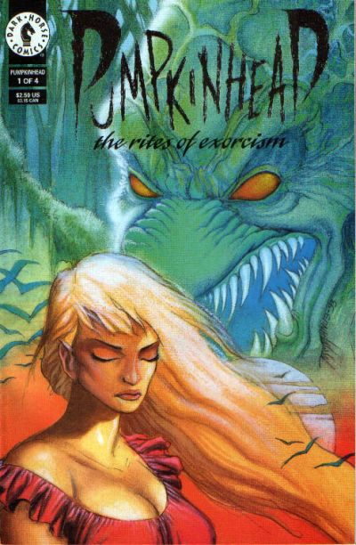 Cover for Pumpkinhead: The Rites of Exorcism (Dark Horse, 1993 series) #1
