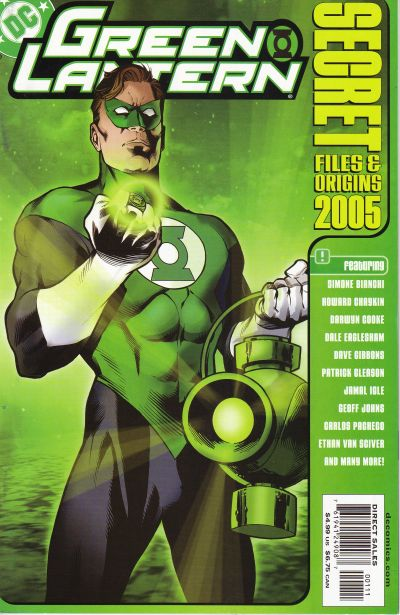 Cover for Green Lantern Secret Files and Origins 2005 (DC, 2005 series)