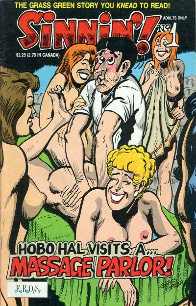 Cover for Sinnin' (Fantagraphics, 1991 series) #1